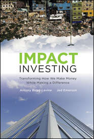 Impact Investing. Transforming How We Make Money While Making a Difference